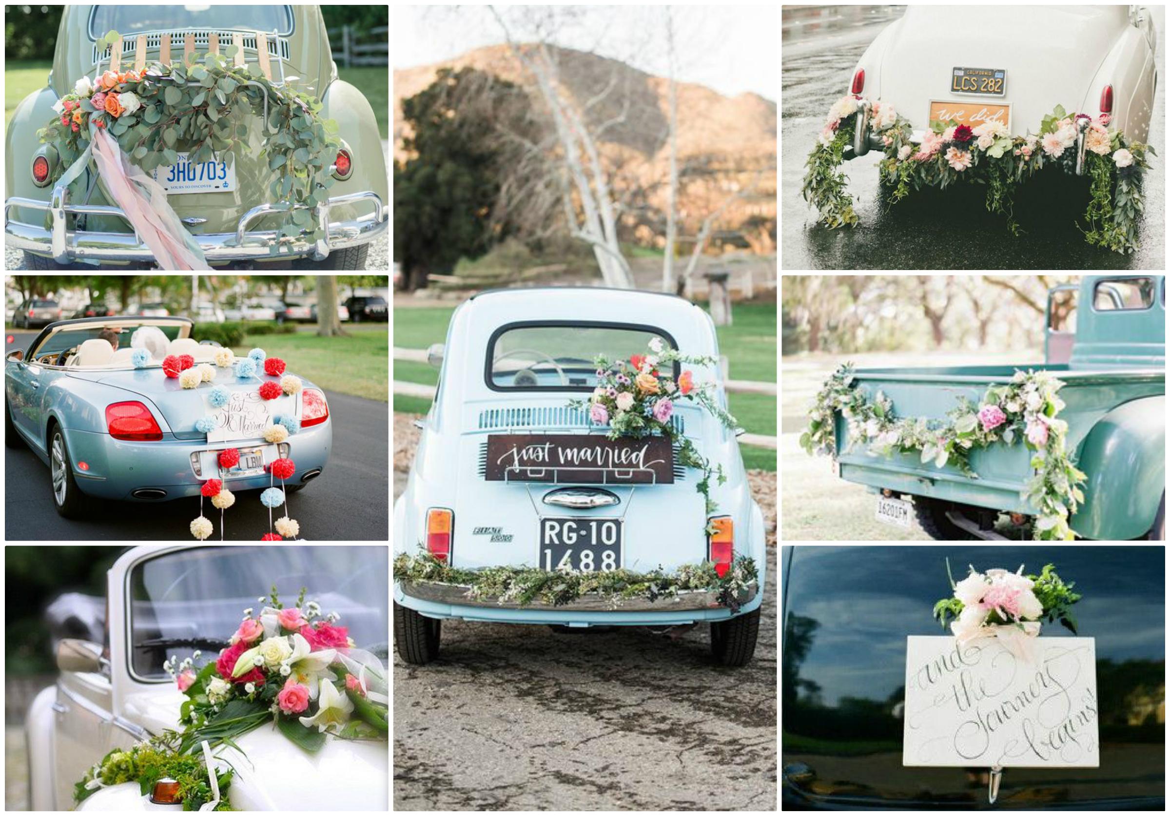 Jak ubrać samochód do ślubu