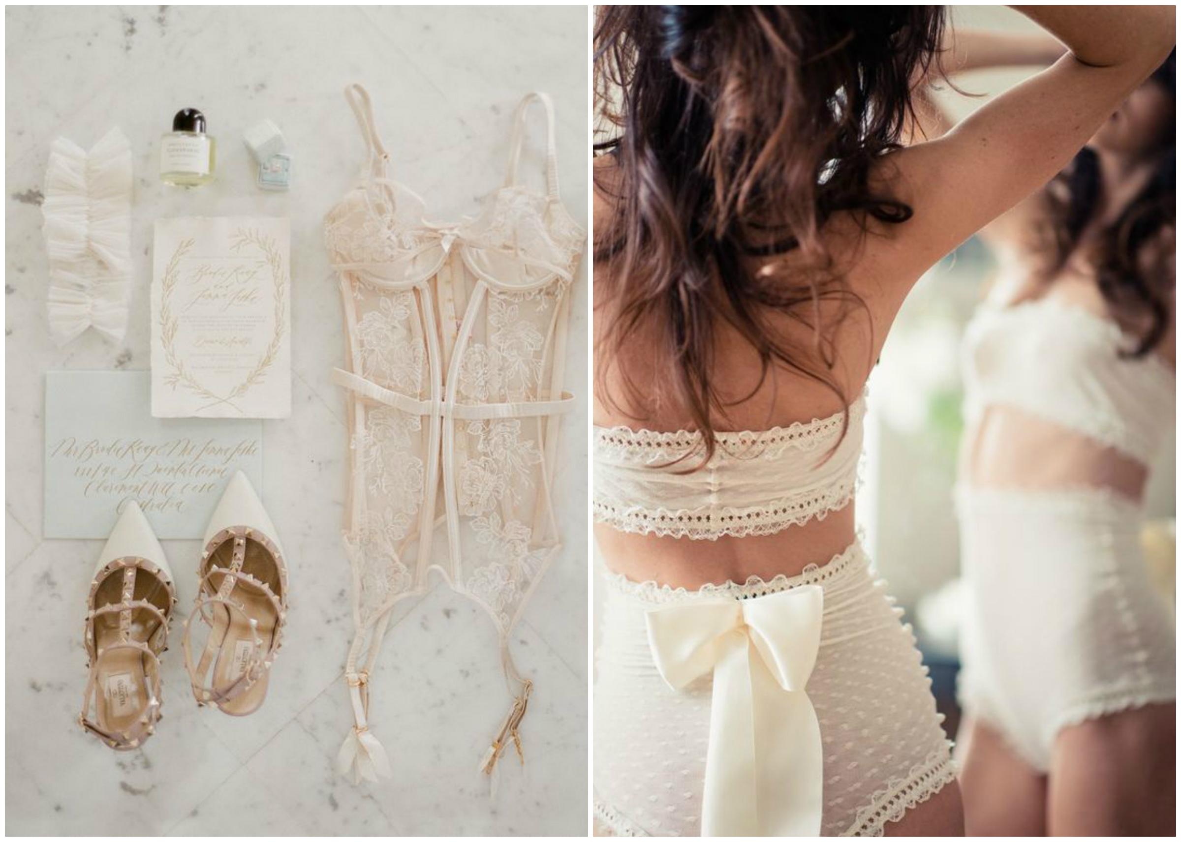 Koronkowa bielizna na ślub