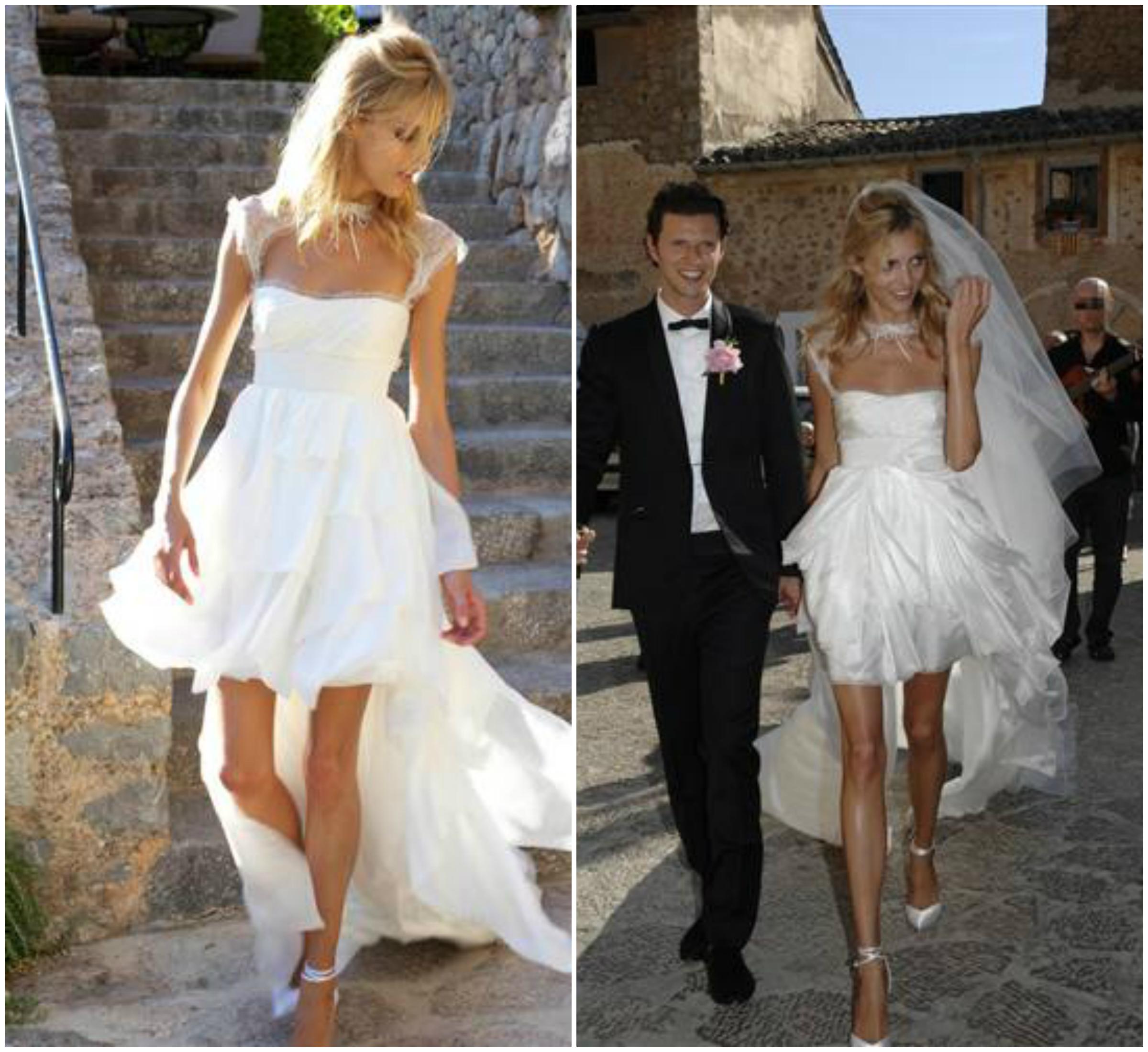 Suknia ślubna Krótki Przód Długi Tył Zet81 Usafrica