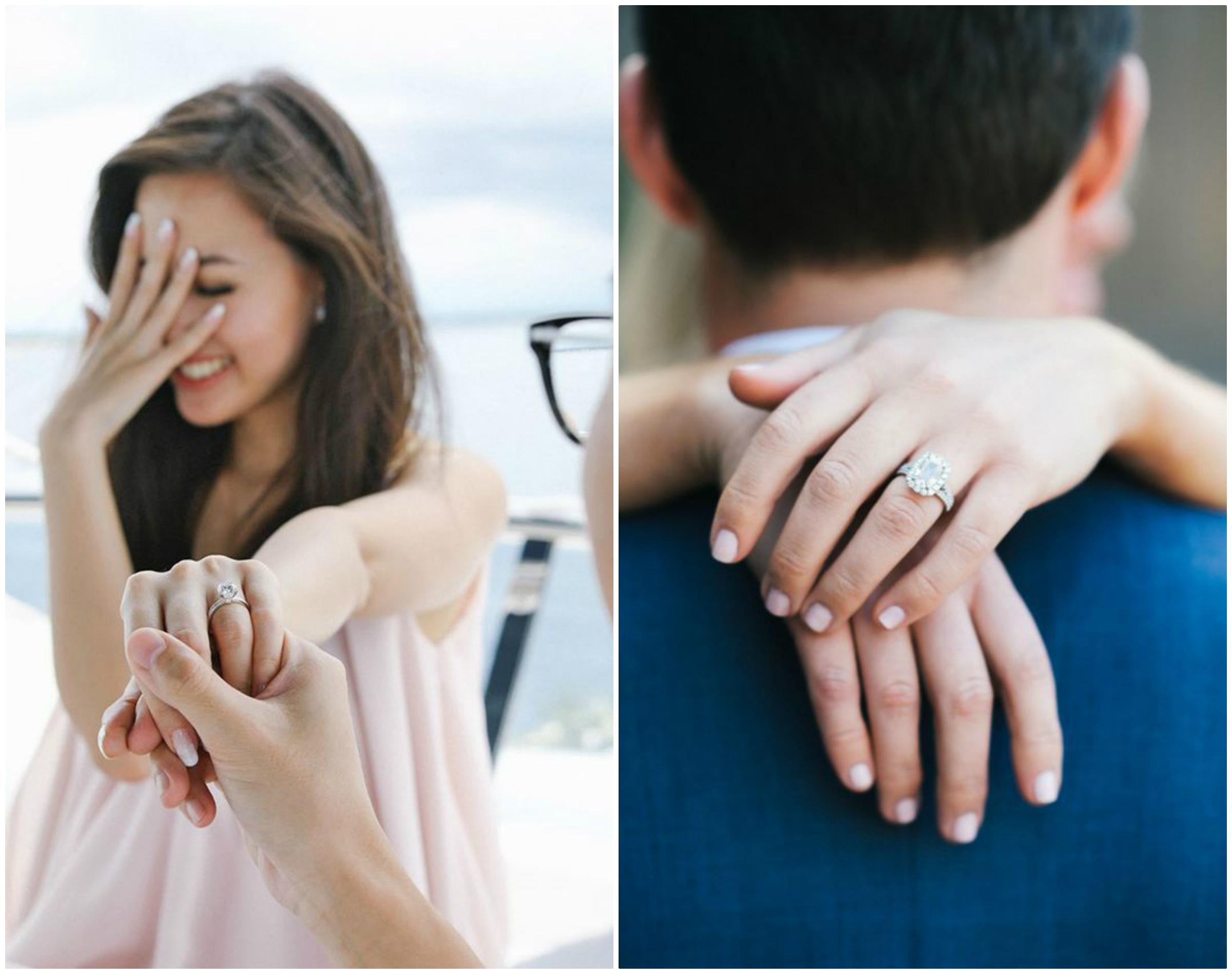 Zmówiny, oświadczyny a zaręczyny