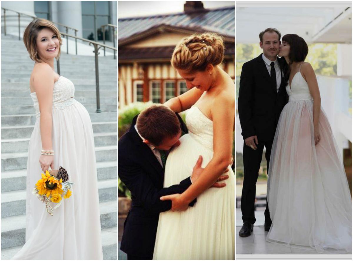 Sukienki Ciążowe Na ślub Cywilny I Kościelny Wielki Przegląd