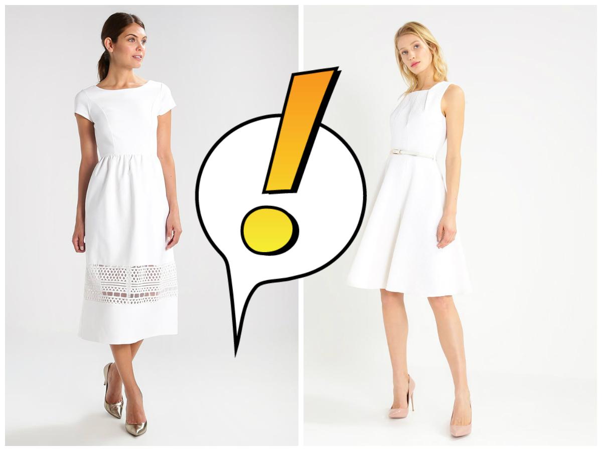 biala sukienka na slub jako gosc: czy wypada