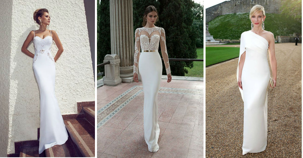 dopasowana sukienka na ślub