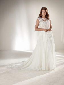 Najpiękniejsze suknie na ślub (fot. Pronovias)
