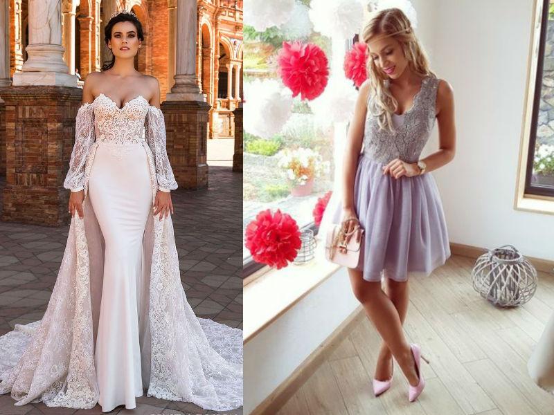 sukienki z gipiury